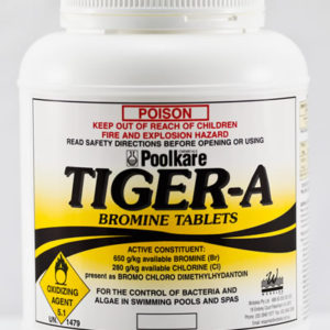 Tiger A – Bromine tablets